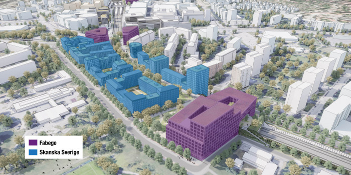 Fabege and Skaska Acquire Land for Further Long-term Urban Development