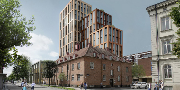 NCC to Construct Science Park Towers in Jönköping