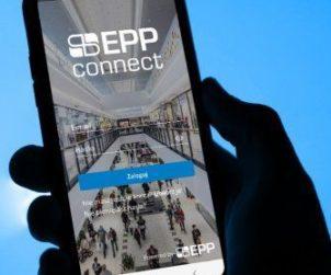 EPP communicates via app