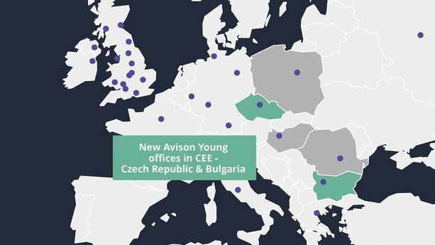 CEE REGION Avison Young expands into Czech and Bulgaria