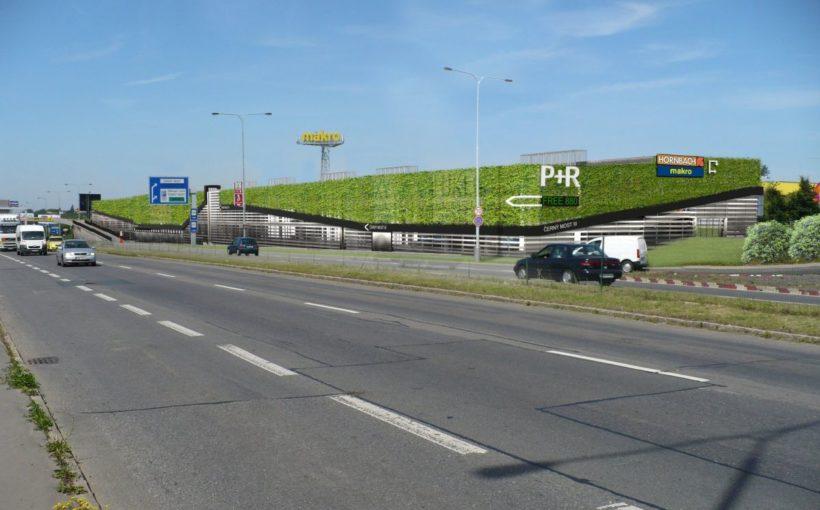CZECH REPUBLIC Green P+R for Černý Most
