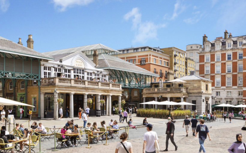 Covent Garden Unveils New Outdoor Dining Scheme