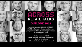 "ACROSS Retail Talks online, on the topic ""Outlook 2021"""
