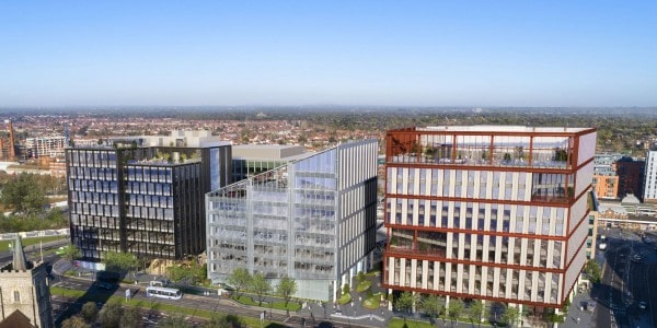AshbyCapital, U+I receive planning consent for Slough office development