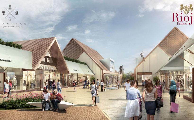 Work Begins on Grantham Designer Outlet Village