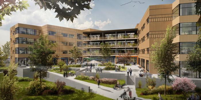 Skanska Builds Schools with Multi-purpose Hall and Rehabilitation Center in Trondheim