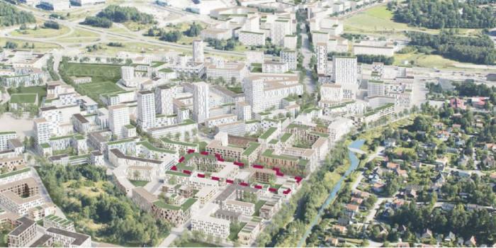 K-Fastigheter Acquires Development Property in Stockholm Area