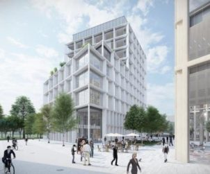 HUNGARY S Immo planning Budapest office complex