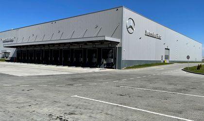 Mercedes-Benz Romania launches a new Logistic Center in Dragomiresti-Vale