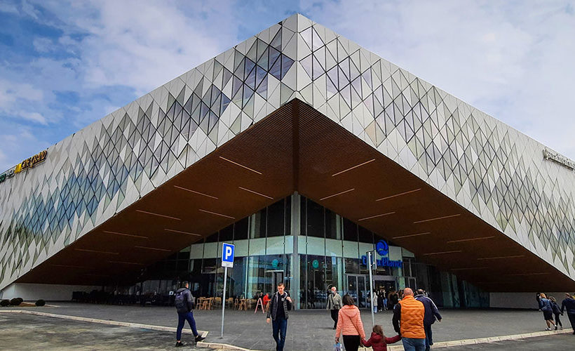 Shopping mall Delta Planet opened in Niš