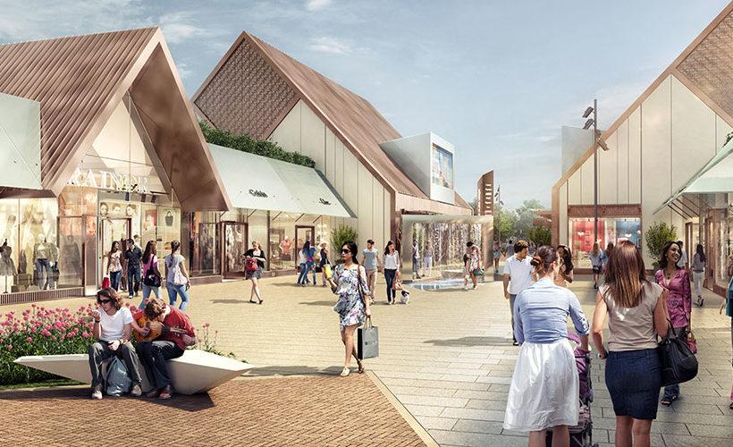Work starts on the Grantham Designer Outlet Village