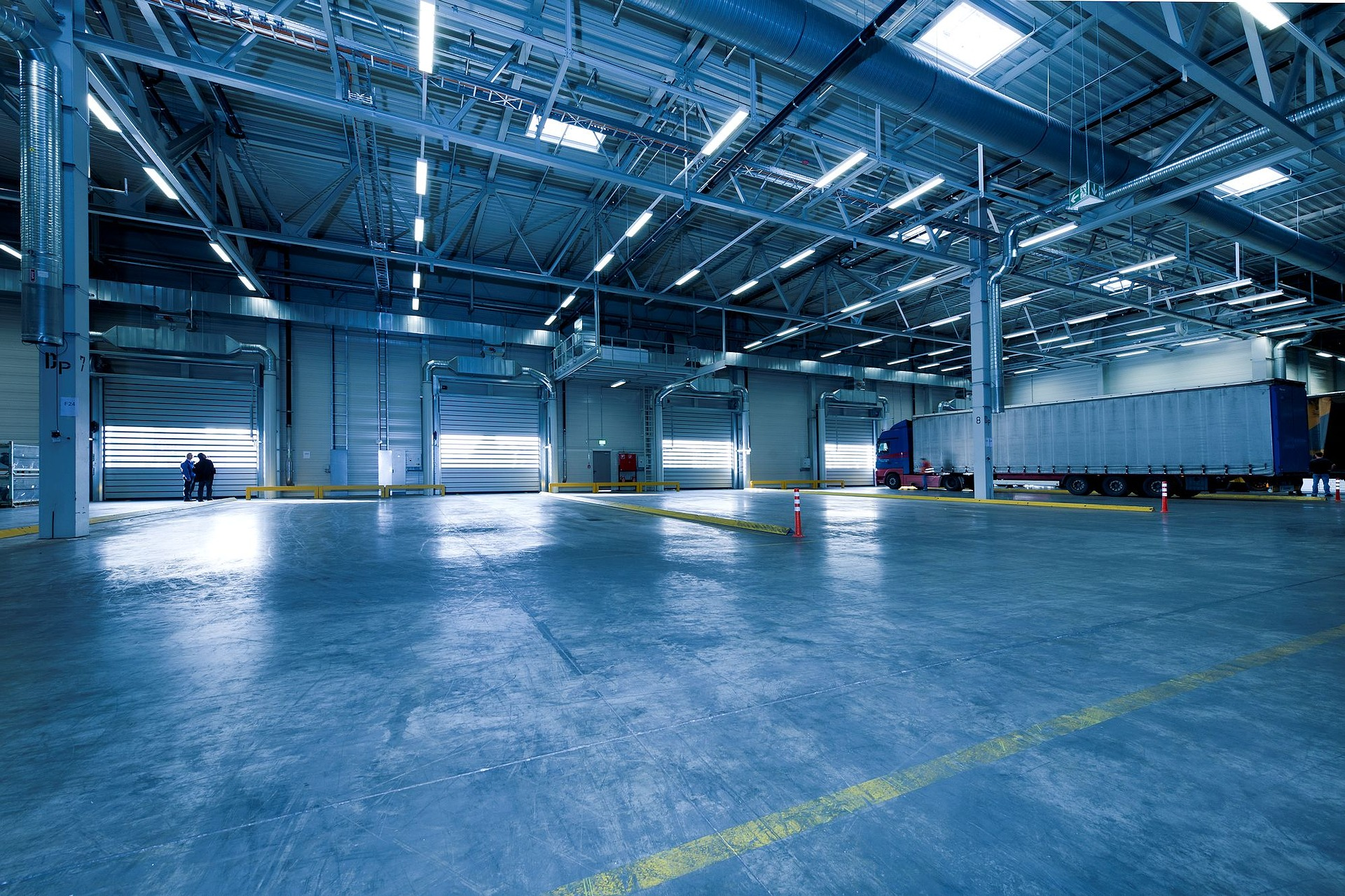 industrial hall