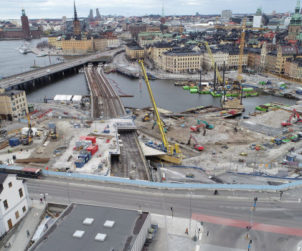 New Target Cost for Skanska's Reconstruction of Slussen in Stockholm