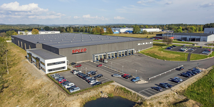 Logicenters and Speed Group Signs Another Agreement in Borås