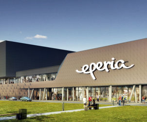 Opening soon: the second stage of Slovakia's most ecological shopping center
