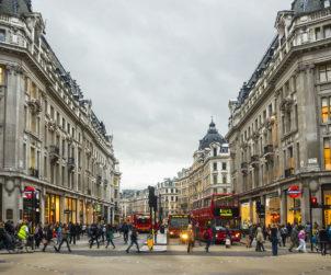 Oxford Street is Hardest Hit Major European High Street