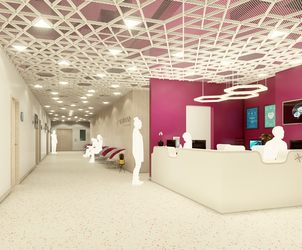 TESSERACT ARCHITECTURE designs the new private neurology clinic Neuroaxis