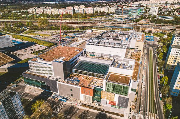 Etele Plaza unveils plans for Hungary's most spacious food court