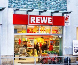 REWE opens 'Supermarket Of The Future' (DE)