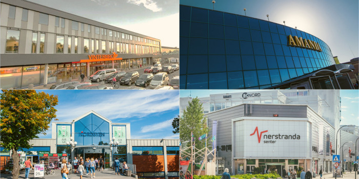 Aurora Eiendom Invests NOK 4.8 Billion in New Shopping Centre Company
