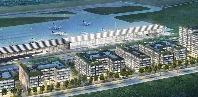 MVGM takes on first building of Airport City in Gdańsk