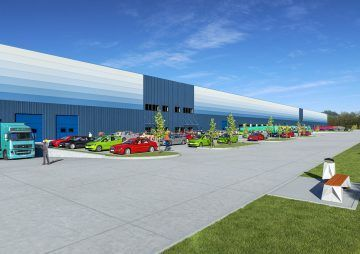 Hungary Fiege takes 43,000 sqm from GLP