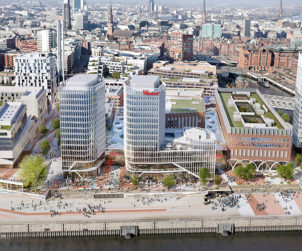 Westfield Hamburg-Überseequartier is the first major project to receive new DGNB certification for sustainable building sites