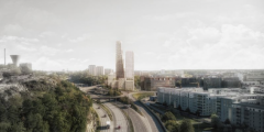 Balder in Collaboration to Construct Stockholm's Tallest Residential Building